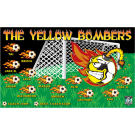 The Yellow Bombers Custom Vinyl Banner