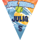 Tidal Waves Triangle Individual Team Pennant