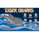 Tiger Sharks 2 Custom Vinyl Banner