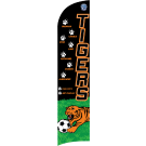 Tigers Custom Double-Sided Team Wind Flag