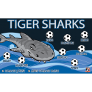 Tiger Sharks 1 Custom Vinyl Banner