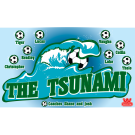The Tsunami Custom Vinyl Banner