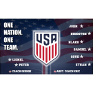 USA National Team Custom Vinyl Banner