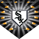 White Sox Custom Home Plate Banner