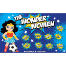 The Wonder Women 2 Custom Vinyl Banner