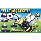 Yellow Jackets Custom Vinyl Banner