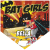 Bat Girls Home Plate Individual Team Pennant
