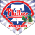 Phillies Home Plate Individual Team Pennant