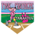 Pink Panthers Home Plate Individual Team Pennant