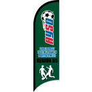 AYSO Region 85 Lake Forest / Foothill Ranch / Portola Hills Custom Double-Sided Team Wind Flag
